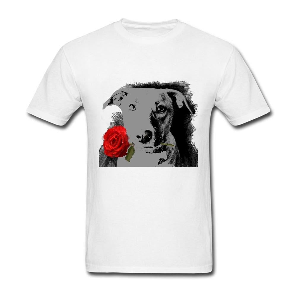 Design your own t-shirt for dogs - Custom Made T Shirts Dog Father Males Personalized Short Sleeve Father S Day Tees Shirt 3xl