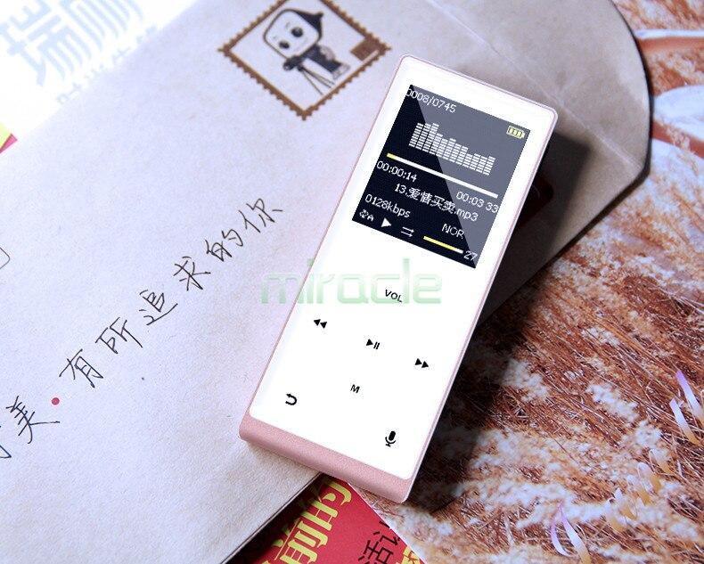 MP3 players mini bluetooth walkman card HIFI nondestructive music with bluetooth recording function