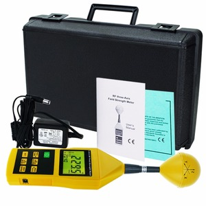 Image 2 - Electromagnetic Radiation Tester 10MHz to 8GHz w/ Alarm and Tripod Mounting MIni Triaxial Tri Axis RF Field Strength Meter