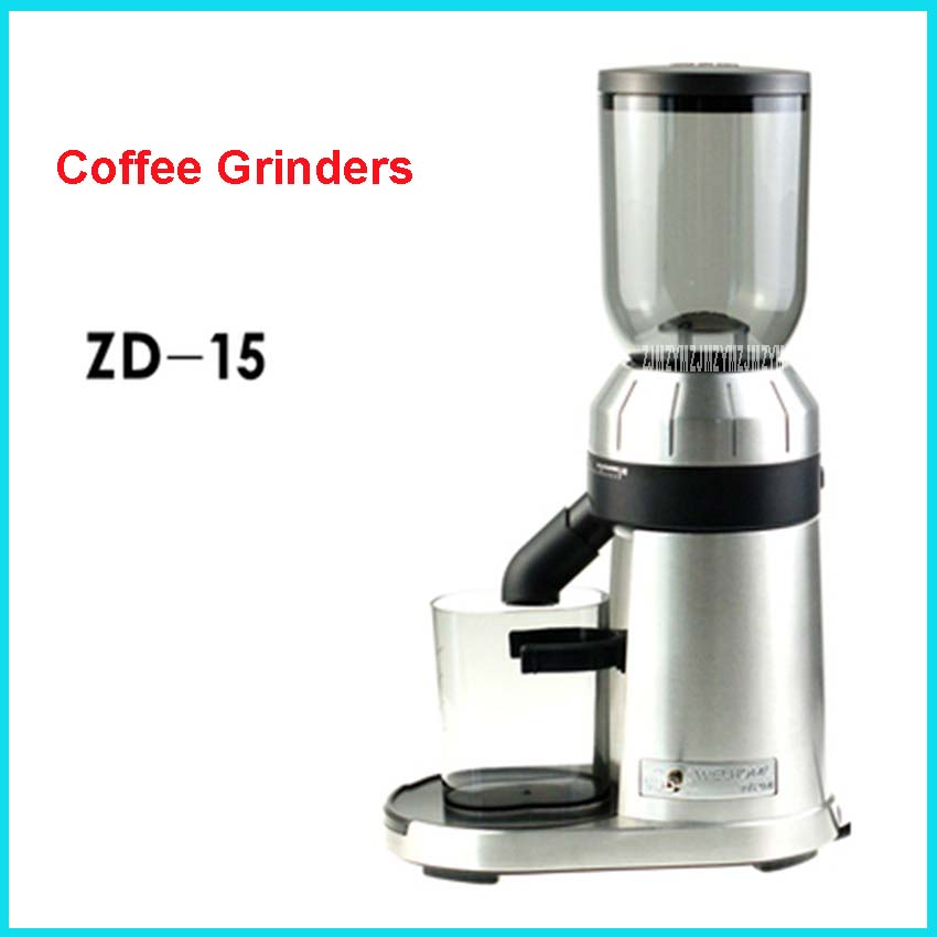 220V/50Hz electric coffee grinder 250g commercial and coffee grinder at coffee grinder mill machine professional machine ZD-15 xeoleo electric coffee grinder commercial