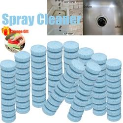50/100/200/300/500 sztuk HOT wielofunkcyjny tabletka musująca środek czyszczący w sprayu domu sprzątanie kuchni przednia szyba samochodu maszyna do mycia szkła w Gąbki i zmywaki od Dom i ogród na