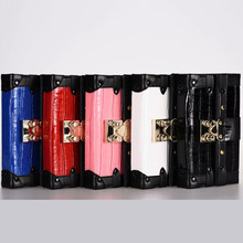 Luxury crocodile pattern multi-function wallet card slot phone case for Iphone X/XS/XSMAX/6S/7/8Plus Samsung S9plus phone bag