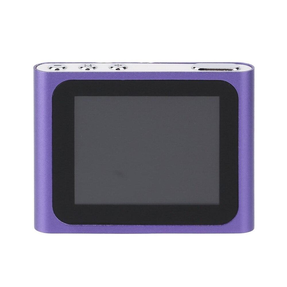 Gerade Tragbare Größe 1,8 Zoll Lcd Display 6th Generation Musik Media Video Film Fm Radio Mp4 Spieler Einfach Tragen Heißer Verkauf Tragbares Audio & Video