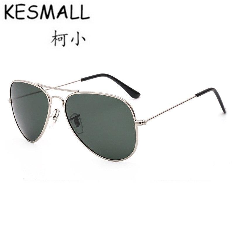KESMALL 2017 Sunglasses Women Man Summer Polarized Driving Sun Glasses Metal Frame Eyeglasses Anti UV font