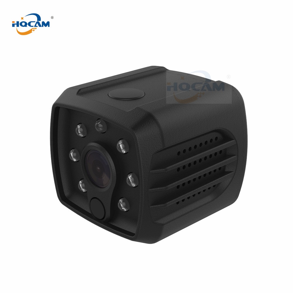 HQCAM 720P WIFI indoor mini Battery camera night vision APP remote control Camcorder Built-in Battery motion detection alarming цены
