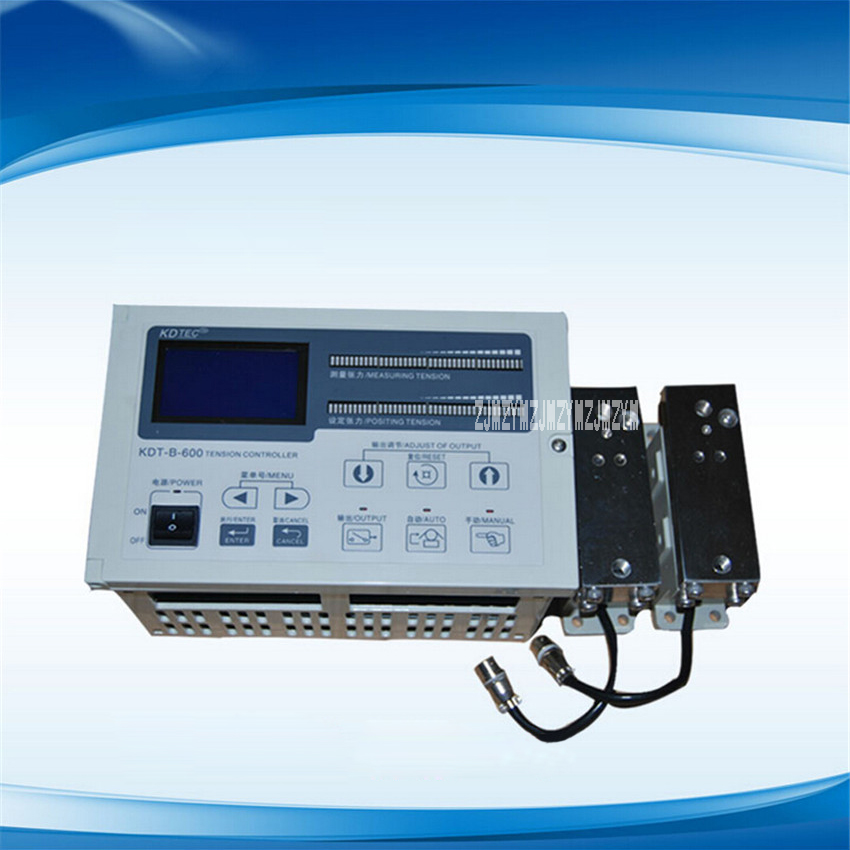KDT-B-600 Max Pressure 600n.m  Automatic Constant Tension Controller/Magnetic Powder Tnsion Controller AC 180-245V 50/60Hz 100MS haitai b 600 digital high precision automatic constant tension controller for printing and textile