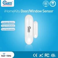NEO Coolcam iHome Zestawy NAS-DS01T Bezprzewodowy System Alarmowy Drzwi/Okna Czujnik Dla Bezpieczeństwa W Domu