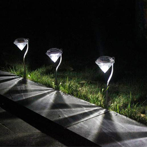 LED Solar Powered Garden Path