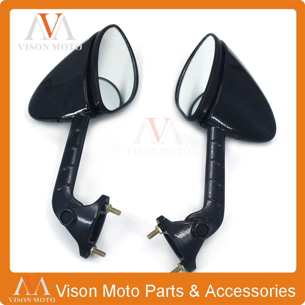 Motorcycle Side Mirror Rearview Rear View For KAWASAKI ZX14R ZX-14R ZZR1400 ZZR 1400 ZZR-1400 2006 2007 2008 2009 2010 2011 free shipping motorcycle parts engine clutch cover see through for kawasaki zx14r zzr1400 2006 2013 black right