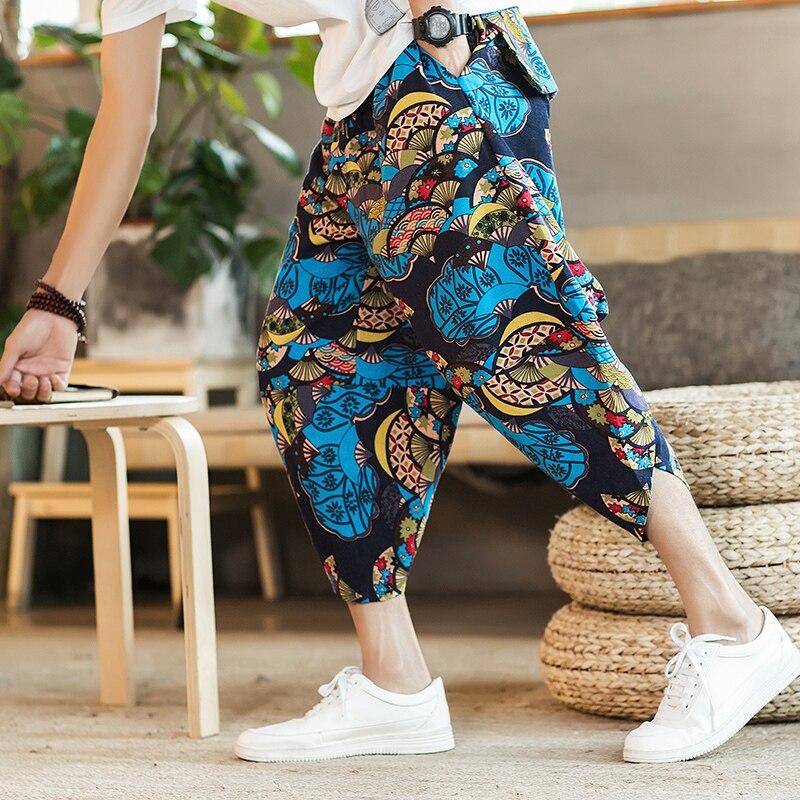 Полосатые спортивные штаны с трафаретным принтом, уличные мужские спортивные штаны с эластичной талией, спортивные штаны для бега - Цвет: color1