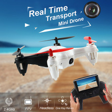 New Wltoys Q242G Mini Drone 5.8G FPV With WIF Camera 2.4G 4CH 6Axis RC Helicopter Hovering One Key Return vs X4 H107D JJRC H6D