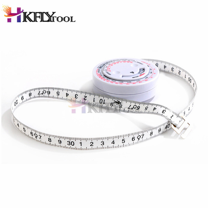 Measures Weight Loss Tool BMI Body Mass Index Measure Tools Retractable Tape