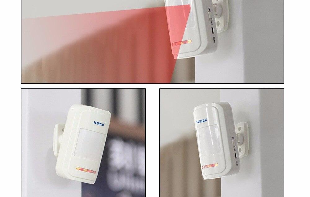 Alarme Sem Fio GSM PSTN Auto Dial Home Security