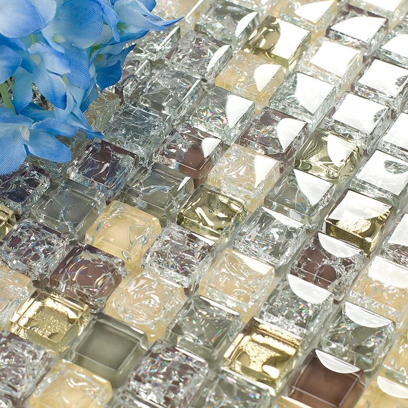 Cuarto de baño de mosaico de vidrio azulejo mosaico de ...