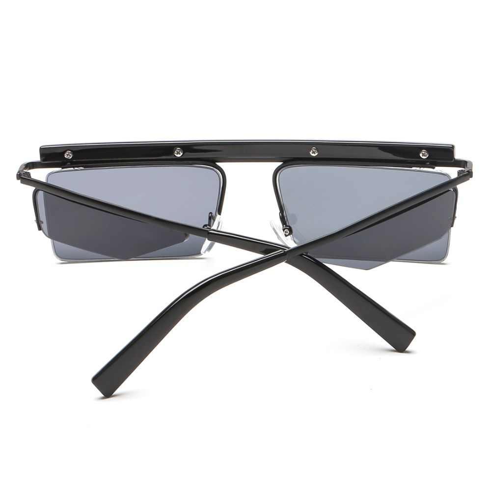 a93541f06df ... AEVOGUE Sunglasses Women Unisex Square Goggles Frame Rimless Side  Shades Cool Ocean Clear Lens Sun Glasses ...