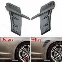 Carbon Fiber Side Wing Fender Air Vent Cover For Audi RS A3 A4L A6L A5 Q3 Q5 Q7