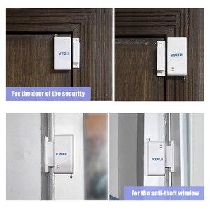 Image 3 - KERUI 10pcs/lot Wireless Door Window Sensor 433MHz Security Smart Gap Sensor Door Alarm Detector for Home Security Alarm System