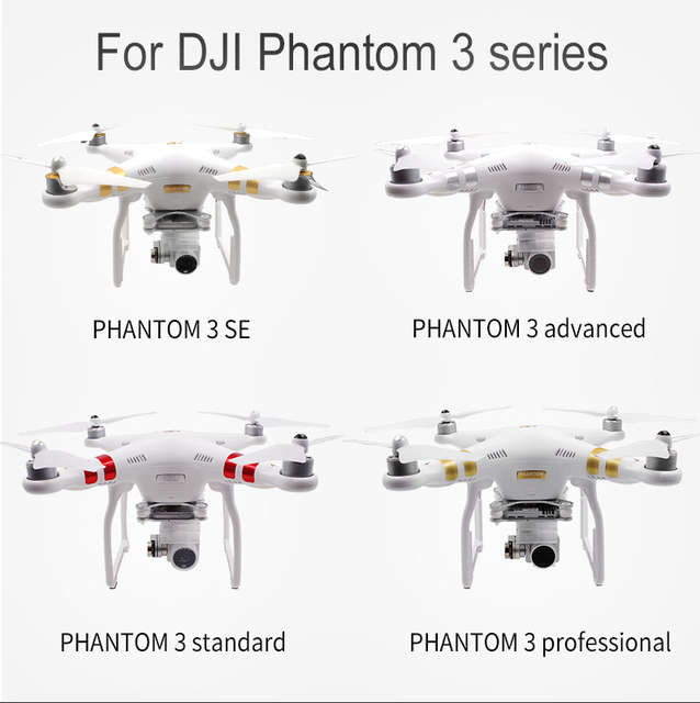 US $9 9 50% OFF| Extra 2 cameras /LED lights installation mount for DJI  Phantom 3 standard/SE/Advance/Professional/wifi 4K-in Prop Protector from