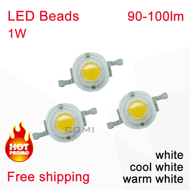 Epileds High Power LED Beads Emitting Diodes 90-100lm with White & Warm White & Cold White Color for Light  Spot Bulbs Lamp