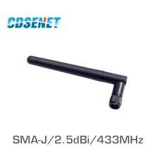 4Pc 433 MHz antenne en caoutchouc omnidirectionnelle Anten TX433 JK 11 2.5dBi connecteur SMA Flexible antenne Omni 433 MHz pour la communication