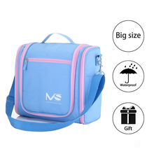 MelodySusie High Quality Cosmetic Bag Polyester Women Cosmetic Cover Fashion Cosmetics Cases Make Up Bag Toiletry Bags