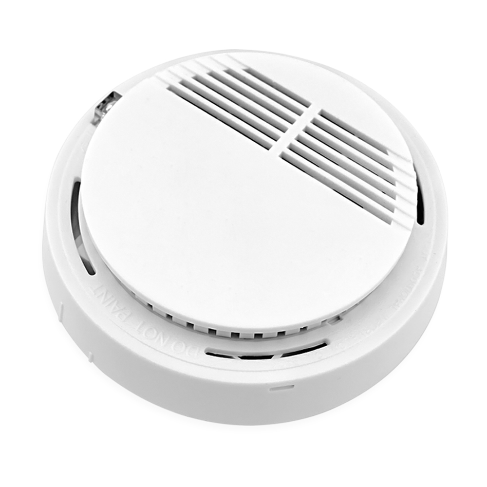 wireless smoke fire detector for wireless gsm pstn burglar auto dial alarm system security home. Black Bedroom Furniture Sets. Home Design Ideas