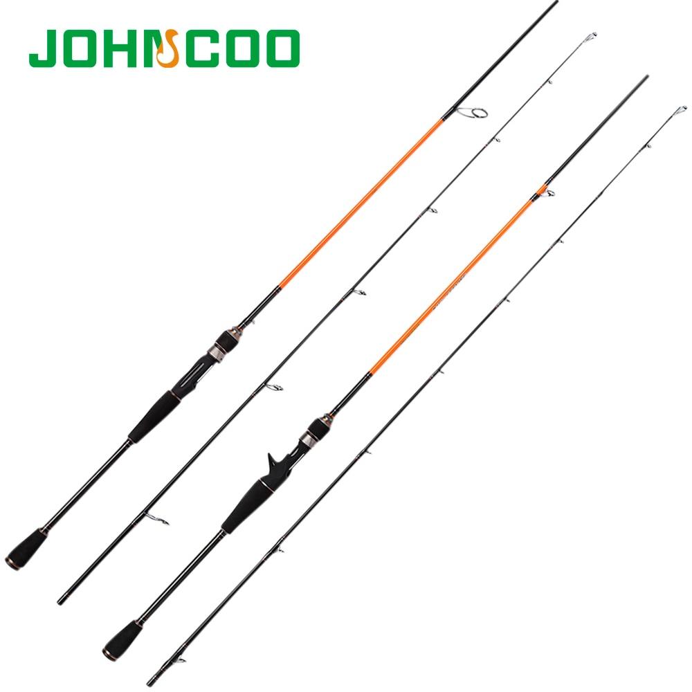 Johncoo new fishing rod baitcasting rod and spinning for Bass fishing pole