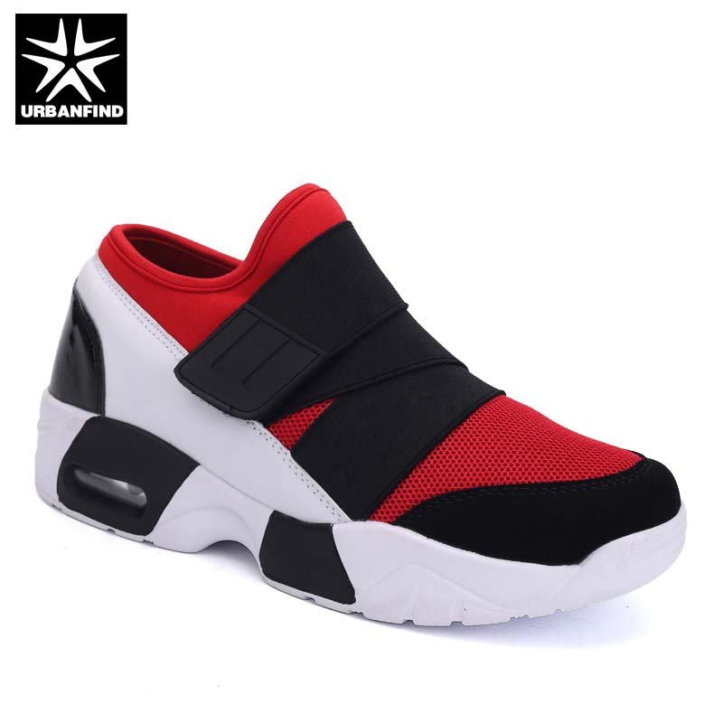 New Unisex Casual Shoes Air Breathable Casual Fashion Sneakers Height Increasing Platform Shoes Male Female Footwear mycolen 2018 new summer breathable men casual shoes slip on male fashion footwear height increasing sneakers sepatu casual pria