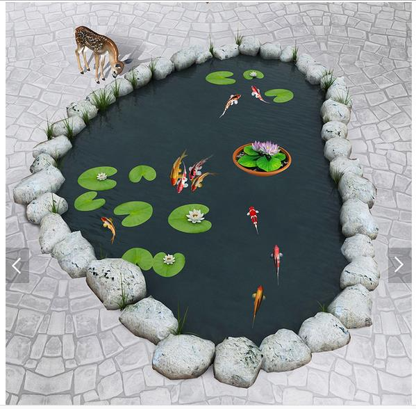 3d wallpaper custom 3d flooring painting wallpaper murals carp pond lotus to paint 3D floor wall 3d living room photo wallpaer book knowledge power channel creative 3d large mural wallpaper 3d bedroom living room tv backdrop painting wallpaper