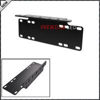 1pc Heavy Duty Front Bumper License Plate Mount Bracket Holder For LED Light Bar LED Work