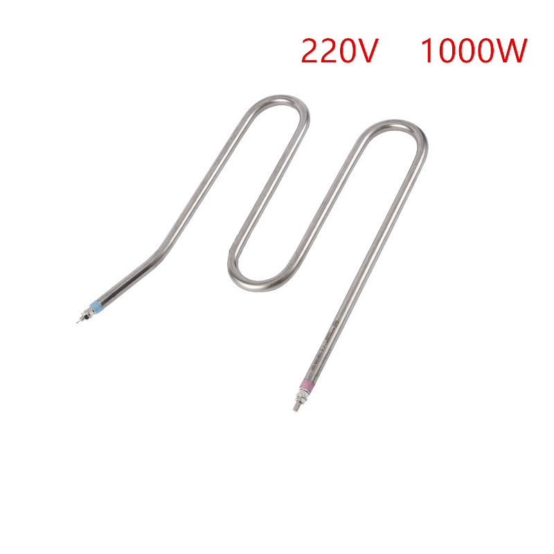 1000W 220V electric heat tube for Centrifugal machine,M type heating element for drying machine 3kw 220v food grade sus304 electric heat tube for electric barrel coil heating element for water bucket noodle maker parts