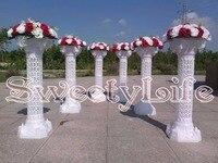 Free Shipping 6pcs/lot Wedding Roman Pillars Event Column