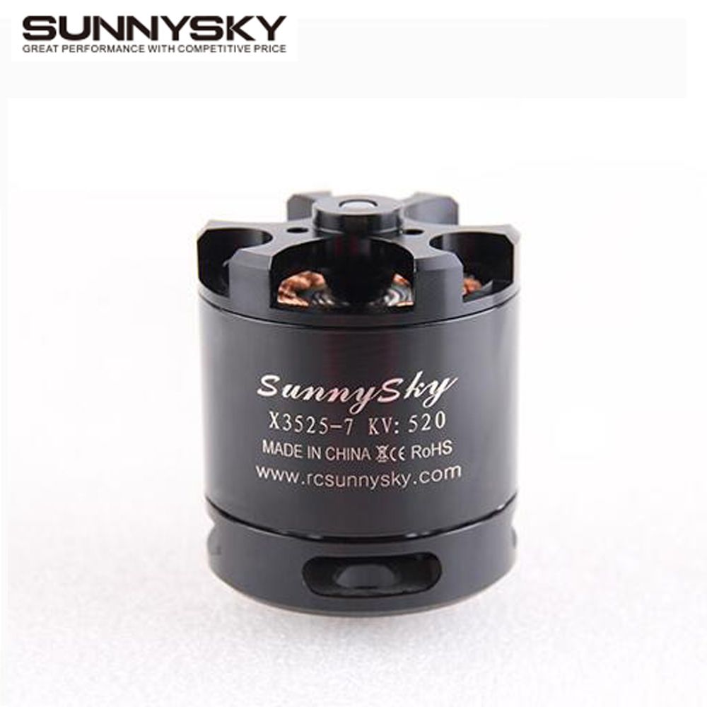 1pcs Original SunnySky X3525 520KV 720KV 880KV Brushless Motor X series for FPV Multicopter RC Quadcopter 2017 dxf sunnysky x2206 1500kv 1900kv outrunner brushless motor 2206 for rc quadcopter multicopter