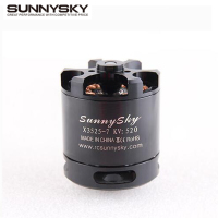 1pcs Original SunnySky X3525 520KV 720KV 880KV Brushless Motor X series for FPV Multicopter RC Quadcopter