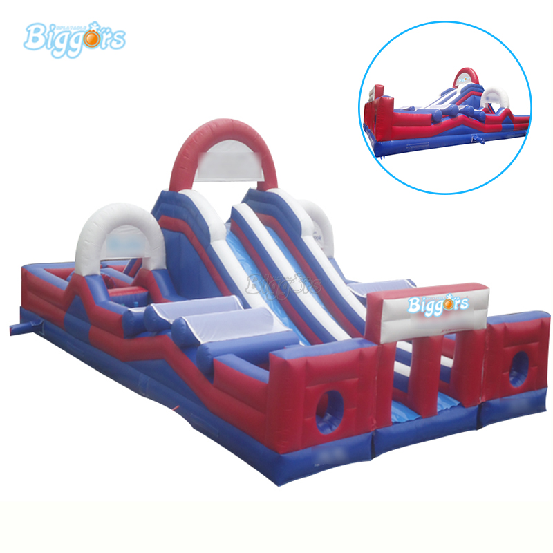 Géant gonflable Obstacle adulte gonflable parcours d'obstacles toboggan Obstacle Course gonflable jeu