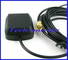 1pcs GPS Navigation Antenna 3 meter Cable SMA Male Straight free shipping