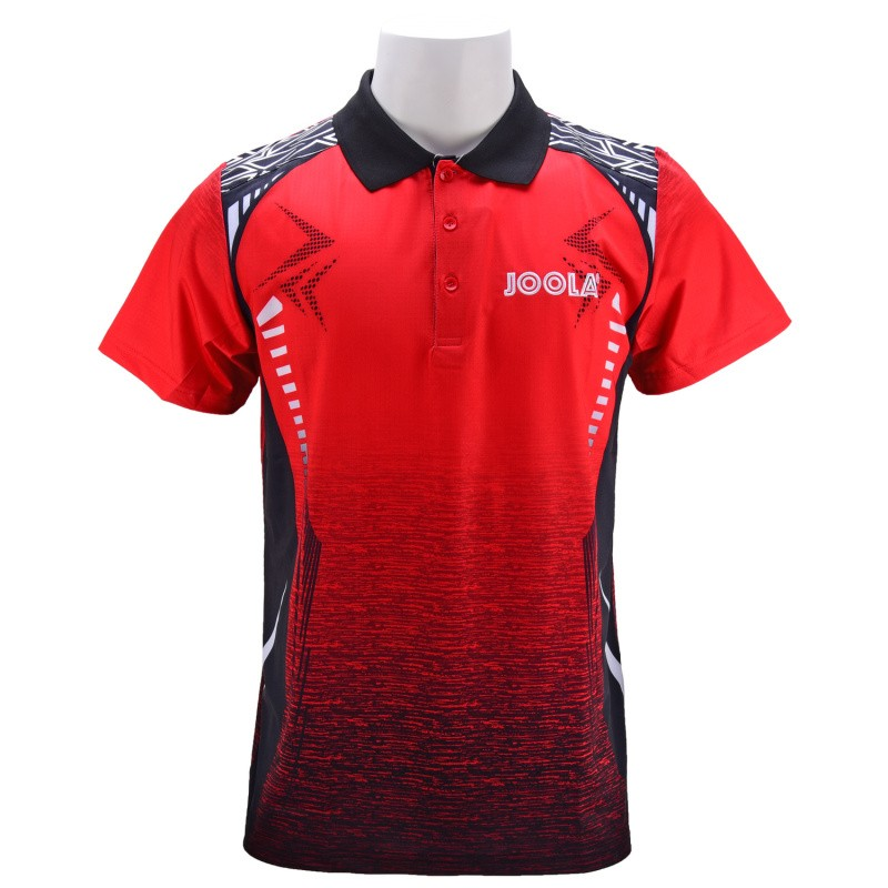 Joola Table Tennis Clothes For Men  Women Clothing T-shirt Short Sleeved Shirt Ping Pong Jersey Sport Jerseys 773(China)