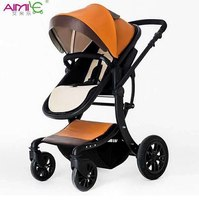 hot mom aimile cart poussette wingoffly baby stroller carrier Aluminum alloy frame
