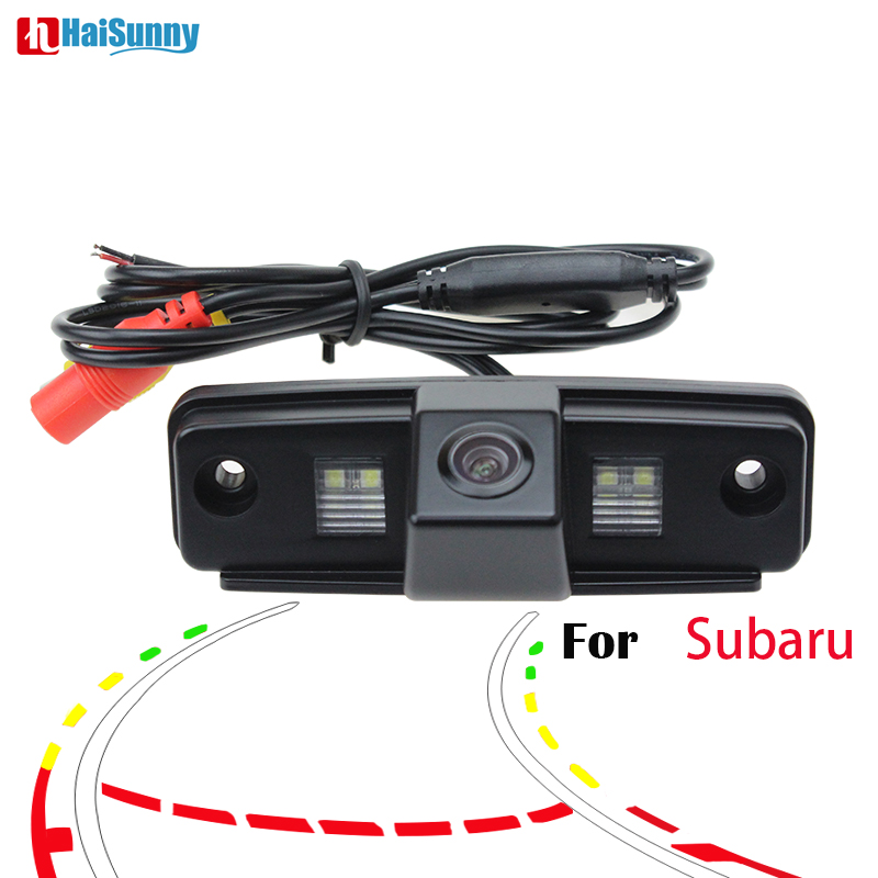 Trajectory Tracks  Backup Rear View Camera Parking For Subaru Forester Outback 2008 2009 2010 2011 2012 Impreza Sedan Legacy 2