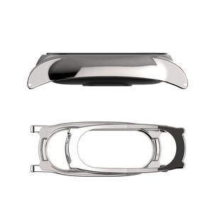 Image 4 - Para mi banda 2 pulseira de metal original para xiaomi mi banda 2 pulseira de aço inoxidável pulseiras substituir acessórios
