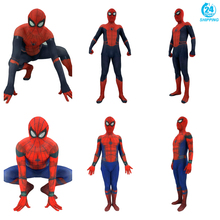 3D printing Adult Men Kids Spider Man:Homecoming Spiderman Cosplay Costume Zentai Superhero Bodysuit Suit Jumpsuits