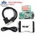 Blanco R1 sin bluetooth TCS CDP Pro Plus 3in1 V2015 nuevo VCI Como MVDIAG Herramienta de Diagnóstico de TCS Escáner Envío Gratis