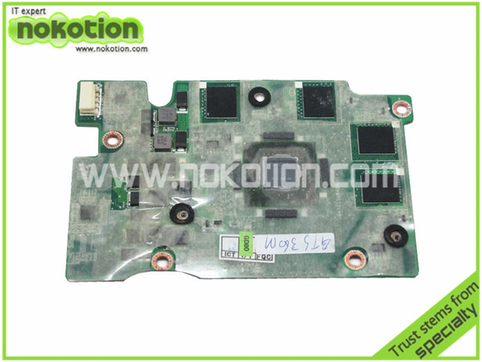graphics card for toshiba Qosmio X505 34TZ1VB00I0 DATZ1SUBAD0 geforce GTS 360M 1GB DDR5 128bit
