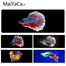 MaiYaCa Your Own Mats Colorful Fish Keyboard Gaming MousePads Size for 30x70cm 30x90cm Rubber Mousemats