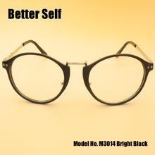 Better Self M3014 Retro Eyewear Full Rim Optical Frames Round Eyeglasses Myopia Spectacles Women
