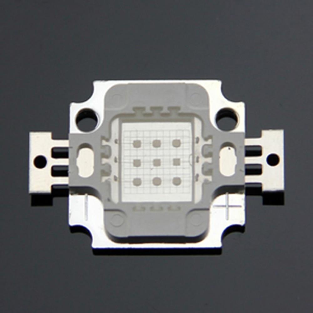 10pcs/lot Purple light 380nm 10W uv led deep uv led 10w 380nm chip original led diode 100% guranteed