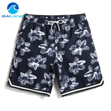 Gailang Brand beach shorts casual summer style boxer trunks for men swimsuits