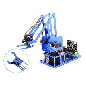 Image 1 - Kit bras Robot métal 4 dof Waveshare pour micro: bit, Bluetooth