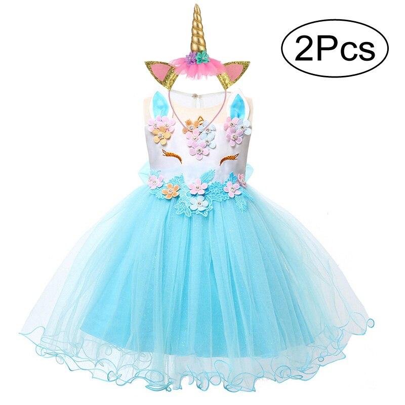 <b>Baby Girls</b> Unicorn Dress For <b>Baby Girl</b> Clothes Costume <b>Kids</b> ...