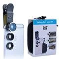APEXEL 3 en 1 lente de la cámara Kit de Lentes de ojo de Pez ojo de Pez lente gran angular y macro lente universal del teléfono para el iphone 5s 6 6 s xiaomi GD3